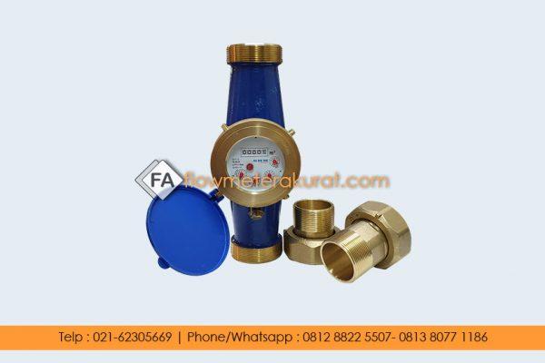 Water Meter Multi Jet Brass SHM 2 Inch
