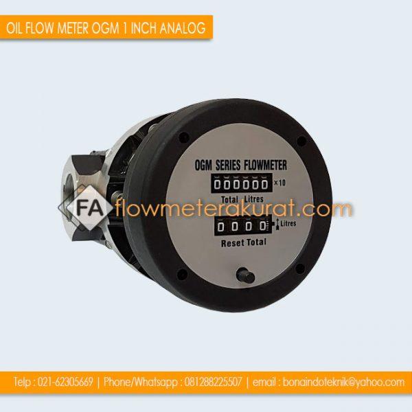 Flow Meter OGM 1 Inch Analog