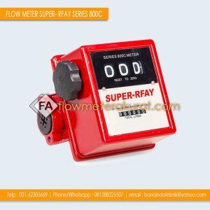 FLOW METER SUPER RFAY Series 800C | Jual Flow Meter Solar Murah