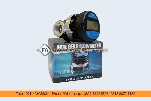 Oval Gear Meter 1 Inch