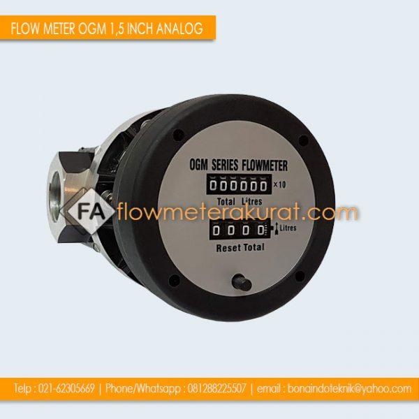 FLOW METER OGM 1,5 INCH ANALOG | Flow Meter OGM 25A