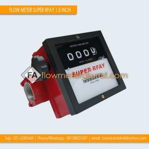 FLOW METER SOLAR SUPER RFAY 1.5 INCH | Super Rfay Flow Meter